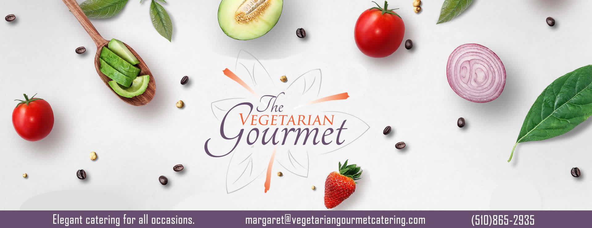 The Vegetarian Gourmet Catering. Elegant catering for all occasions.
